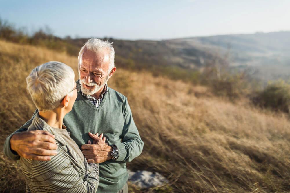 Pensioniertes Paar
